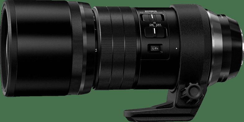 Black Olympus Lens Olympus M Zuiko Digital ED 300mm 4.0 IS Pro.1