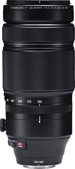 Black Fujifilm XF 100-400 mm F4.5-5.6 R LM OIS WR Lens.1