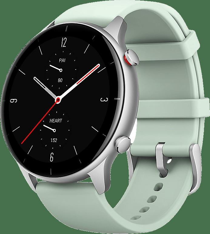Green Amazfit GTR 2e Smartwatch, 46mm Alumium case.1