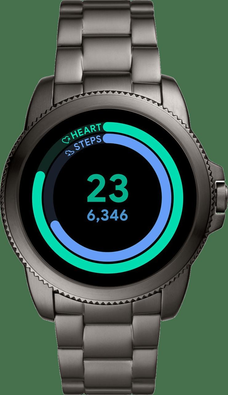 Grey Fossil Gen 5E Men's Smartwatch, 44mm Stainless Steel Case.2