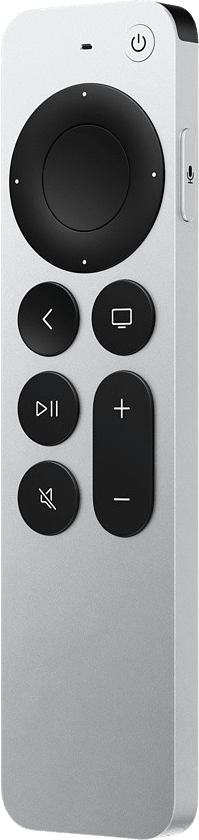 Silver Apple Siri Remote (Gen. 2).3