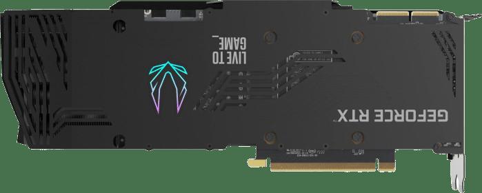 Schwarz ZOTAC GAMING GeForce RTX™ 3090 Trinity OC Grafikkarte.2
