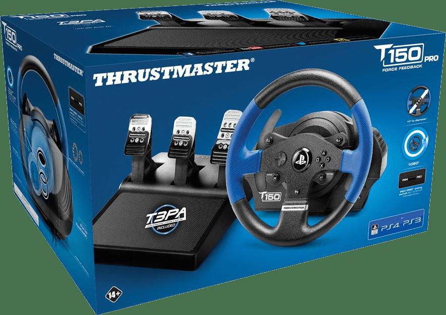 Black Thrustmaster T150 PRO Racing Steering Wheel.4