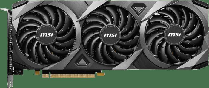 Schwarz MSI GeForce RTX™ 3060 VENTUS 3X OC 12G Grafikkarte.1