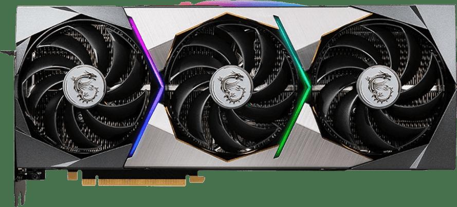 Negro MSI GeForce RTX™ 3070 SUPRIM X 8G Tarjeta gráfica.1