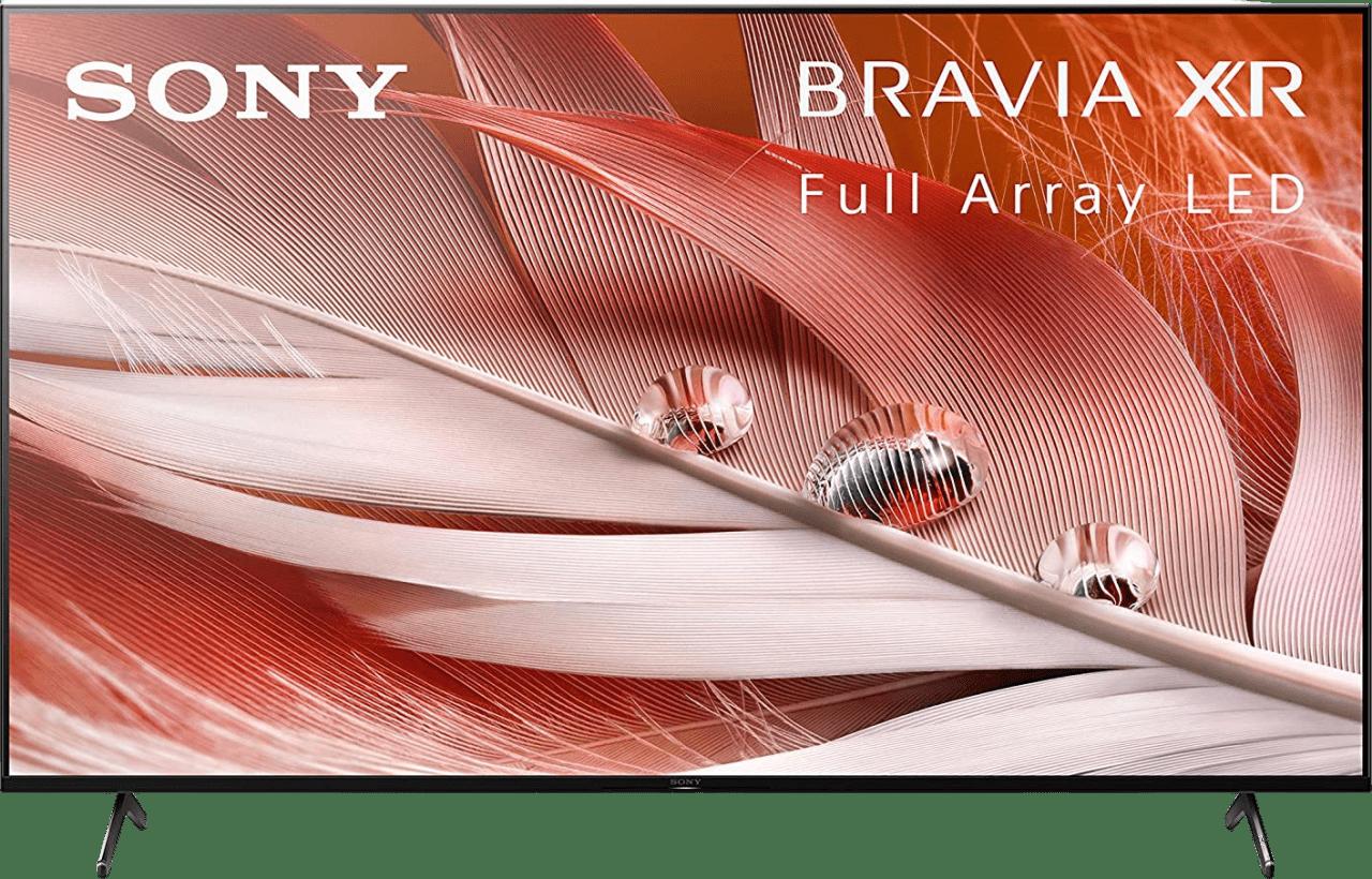 "Black Sony TV 65"" XR65X90J BRAVIA XR LED 4K UHD.1"