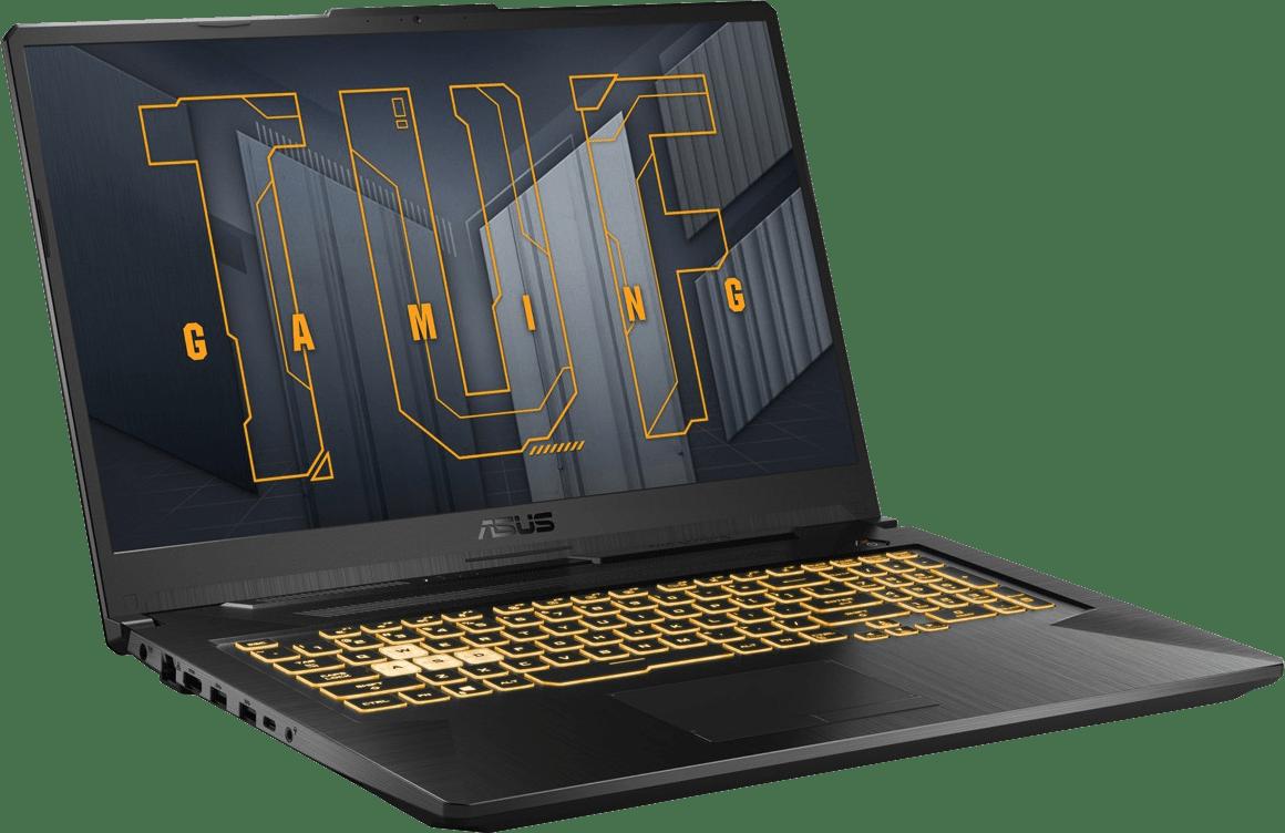 Grey  Asus TUF Gaming A17 FA706QM-HX055T - Gaming Laptop - AMD Ryzen™ 7 5800H - 8GB - 512GB SSD - NVIDIA® GeForce® RTX 3060.4
