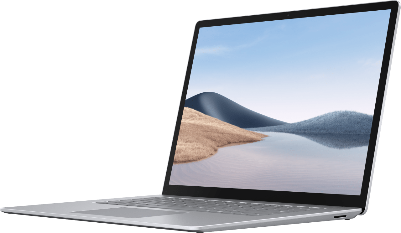 Platin Microsoft Surface Laptop 4 Notebook - AMD Ryzen™ 7 4980U - 8GB - 256GB SSD - AMD Radeon™ Vega RX 11.2