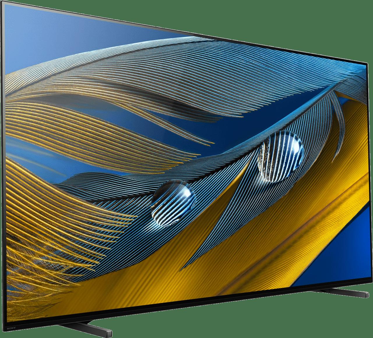 """Black Sony TV 55"""" XR55A80J BRAVIA XR 4K OLED.2"""