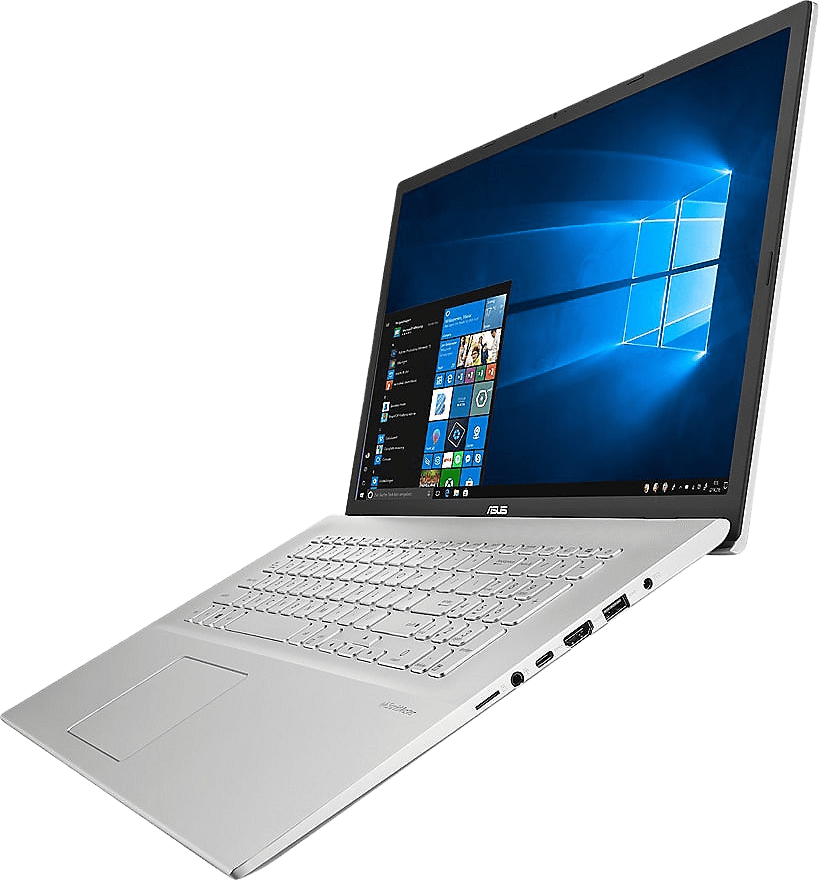 Transparent Silver Asus Business P1701DA-AU366R Laptop - AMD Ryzen™ 5 3500U - 8GB - 256GB SSD - AMD Radeon™ Vega 8.2