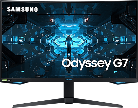 "Schwarz Samsung - 32"" Odyssey G7 C32G74TQSR LC32G74TQSRXZG.1"