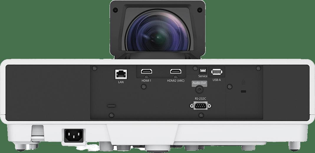 Weiß Epson EH-LS500W Android TV Edition - 4K UHD - Ultrakurzdistanz.3