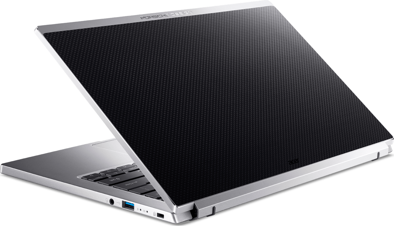 Silber/ Schwarz Acer Porsche Design Acer Book RS RS AP714-51GT - Spanish (QWERTY) Notebook - Intel® Core™ i7-1165G7 - 16GB - 1TB PCIe - NVIDIA® GeForce® MX350.4