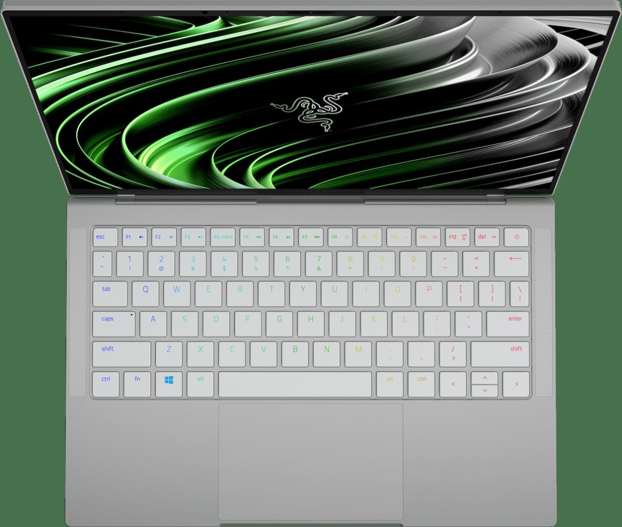 Mercury White Razer Book 13 - English (QWERTY) Laptop - Intel® Core™ i7-1165G7 - 16GB - 512GB SSD - Intel® Iris® Xe Graphics.2