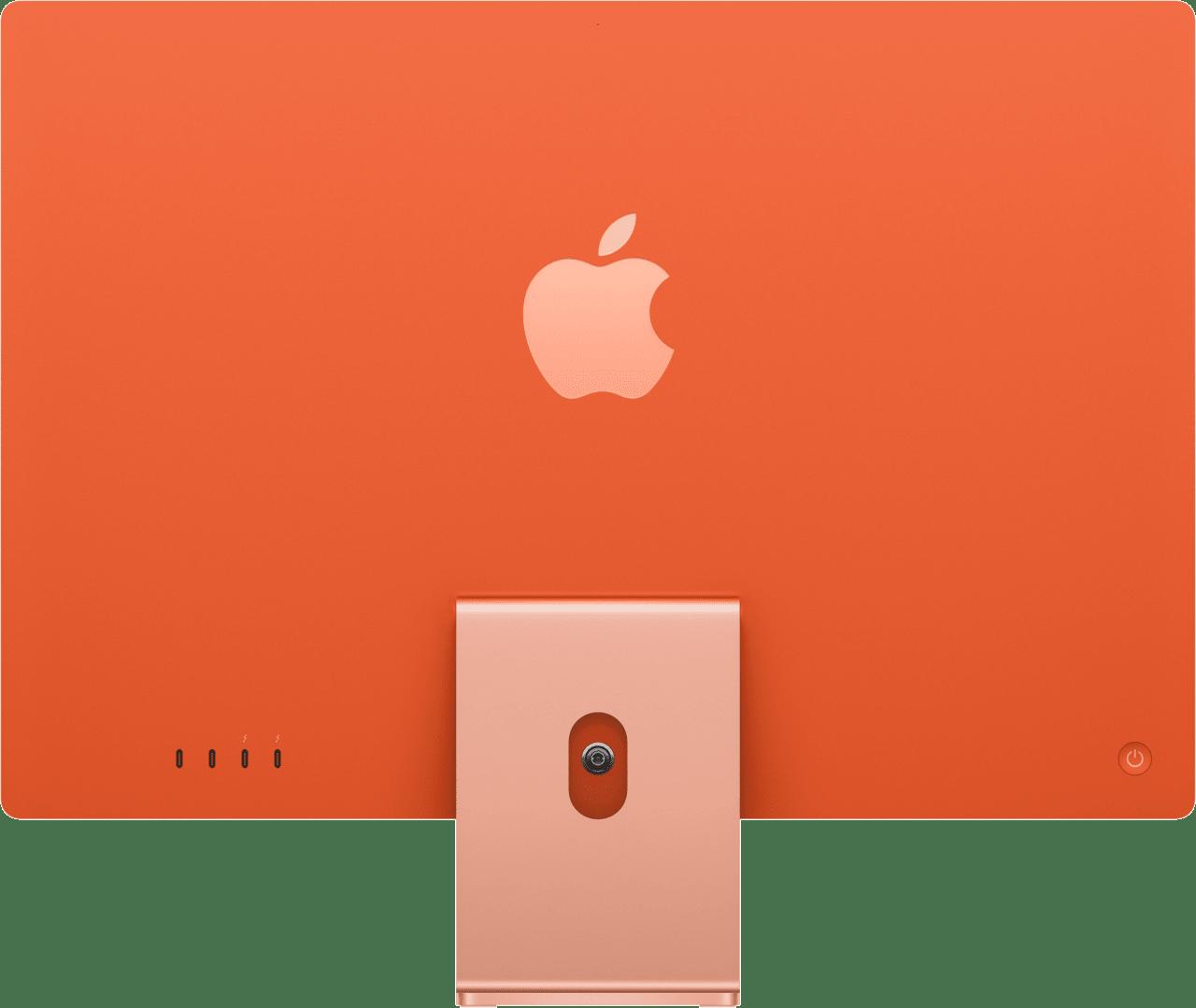 "Orange Apple 24"" iMac (Mid 2021) All-in-One - Apple M1 - 8GB - 256GB SSD - Apple Integrated 8-core GPU.2"
