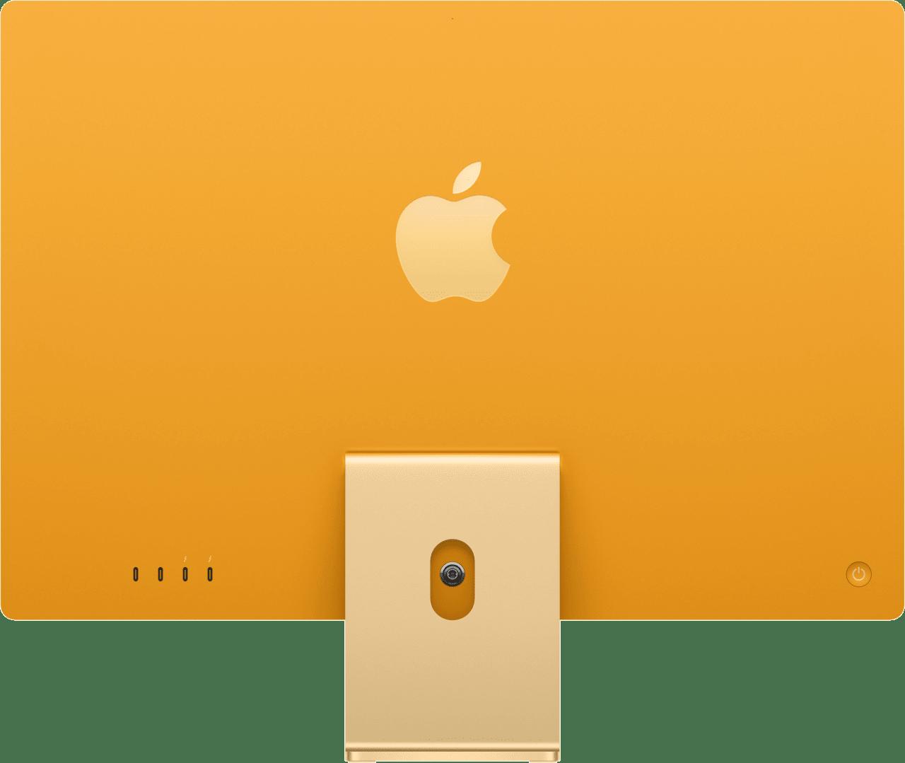 "Gelb Apple 24"" iMac (Mid 2021) All-in-One PC - Apple M1 - 8GB - 256GB SSD - Apple Integrated 8-core GPU.3"