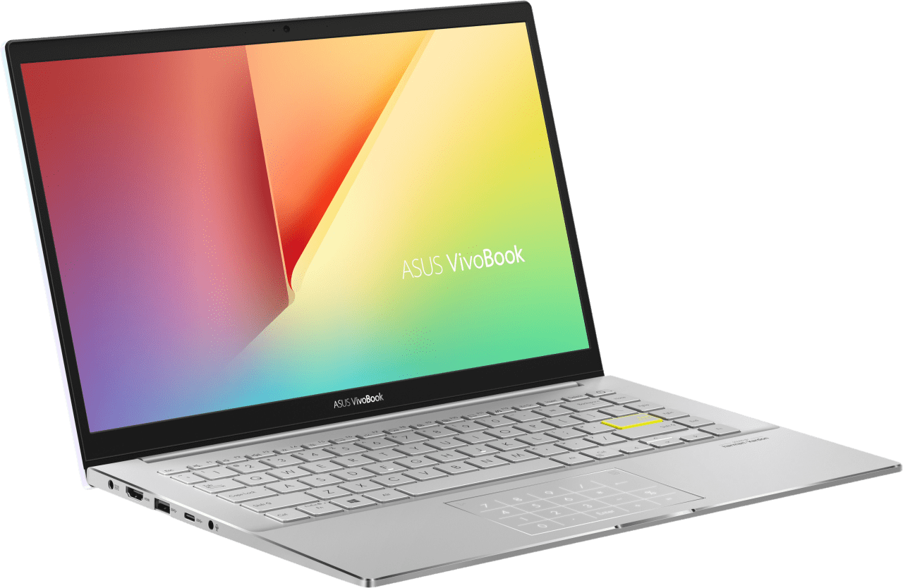 Silver Asus VivoBook S14 S433EA-AM612T - Spanish (QWERTY) Laptop - Intel® Core™ i7-1165G7 - 8GB - 512GB SSD - Intel® Iris® Xe Graphics.2