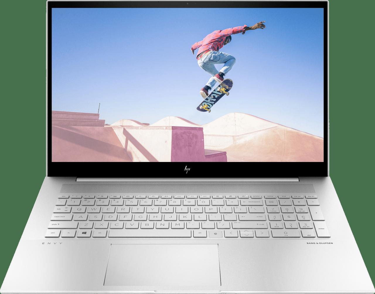 Natural Silver HP Envy 17-ch0058ng Laptop - Intel® Core™ i5-1135G7 - 16GB - 512GB PCIe - NVIDIA® GeForce® MX450 (2GB).1