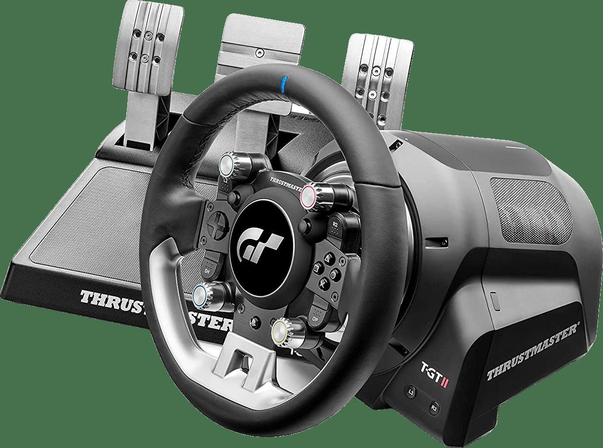 Zwart Thrustmaster T-GT II Racing Stuur + 3 pedaalset.2