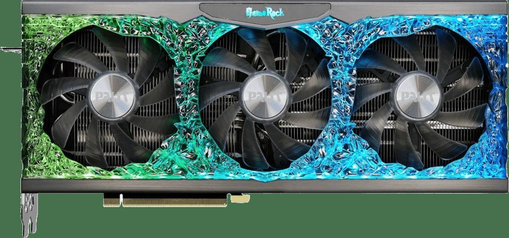 Black Palit GeForce RTX 3090 GameRock Graphics Card.1