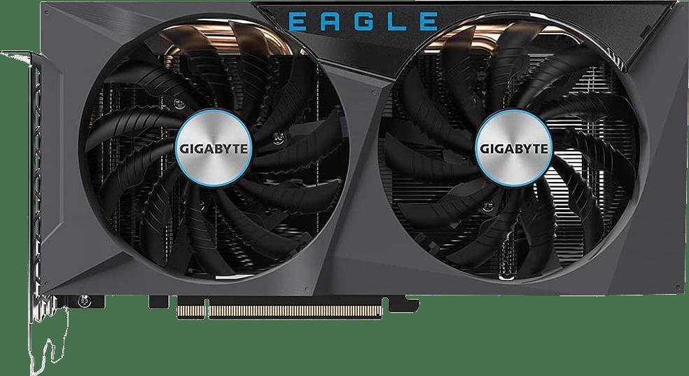 Black GigaByte GeForce RTX™ 3060 Eagle OC 12G (Rev. 2.0) Tarjeta gráfica.1