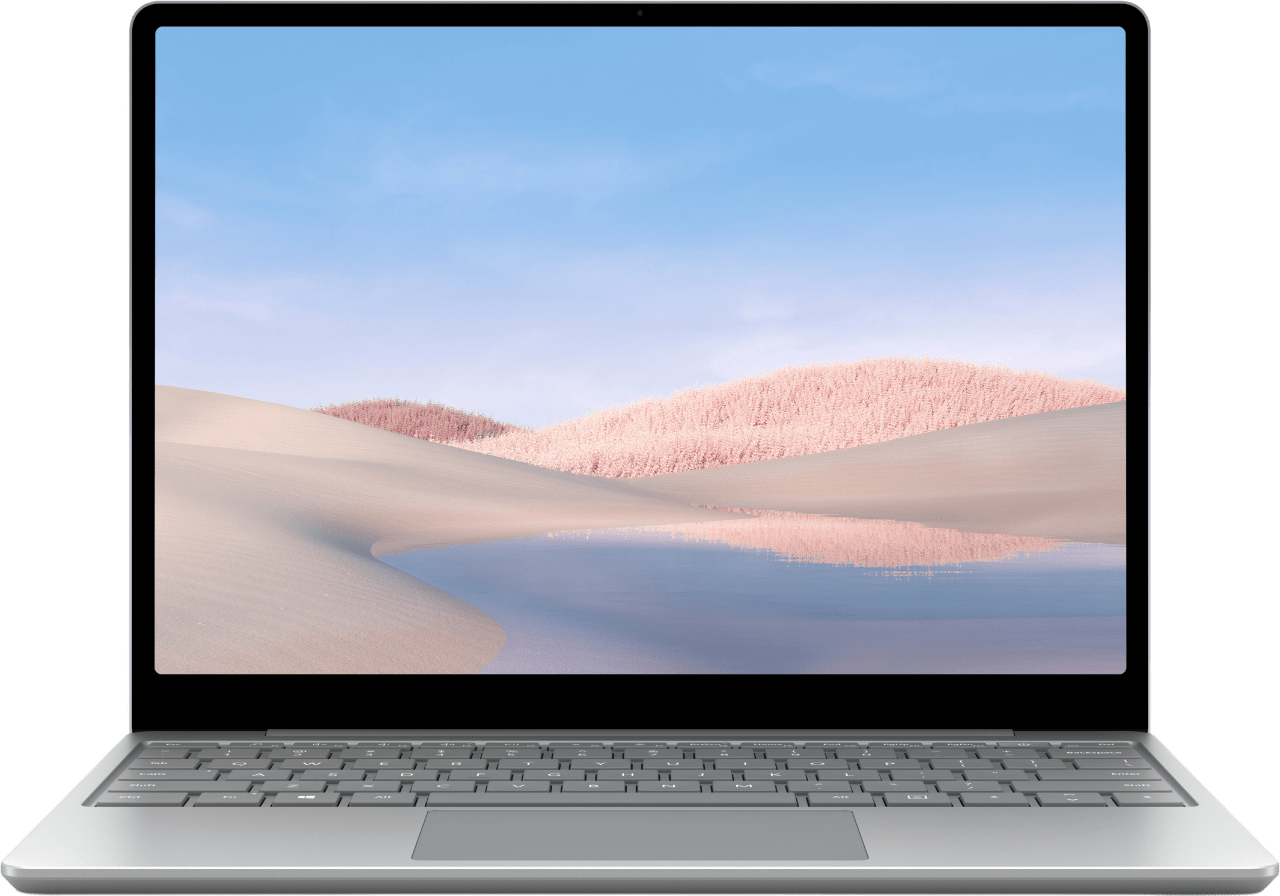 Platinum Microsoft Surface Laptop Go - English (QWERTY) Laptop - Intel® Core™ i5-1035G1 - 8GB - 128GB SSD - Intel® UHD Graphics.1