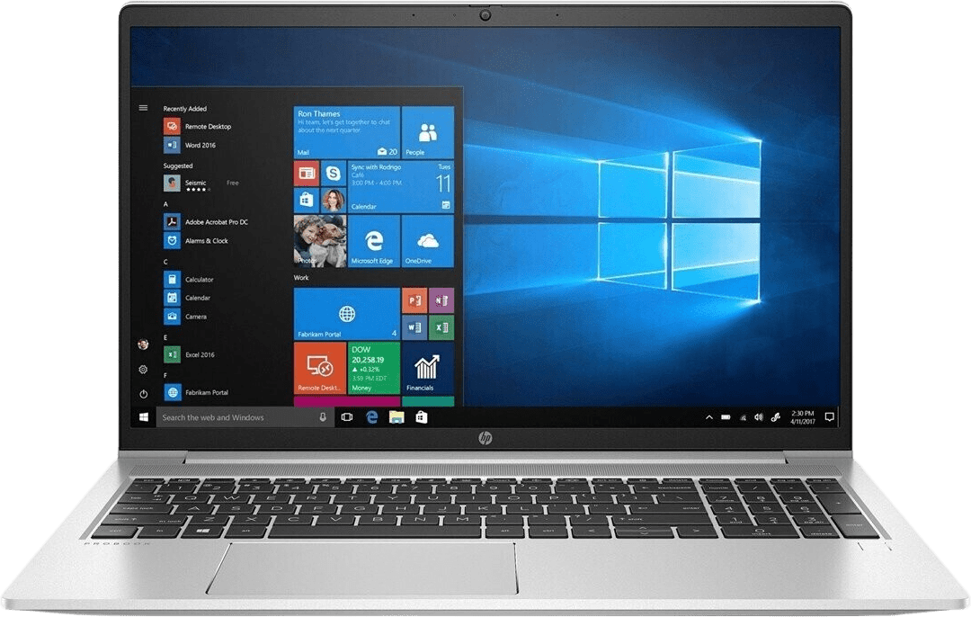 Silver HP ProBook 450 G8 Laptop - Intel® Core™ i5-1135G7 - 16GB - 512GB SSD - Intel® Iris® Xe Graphics.1