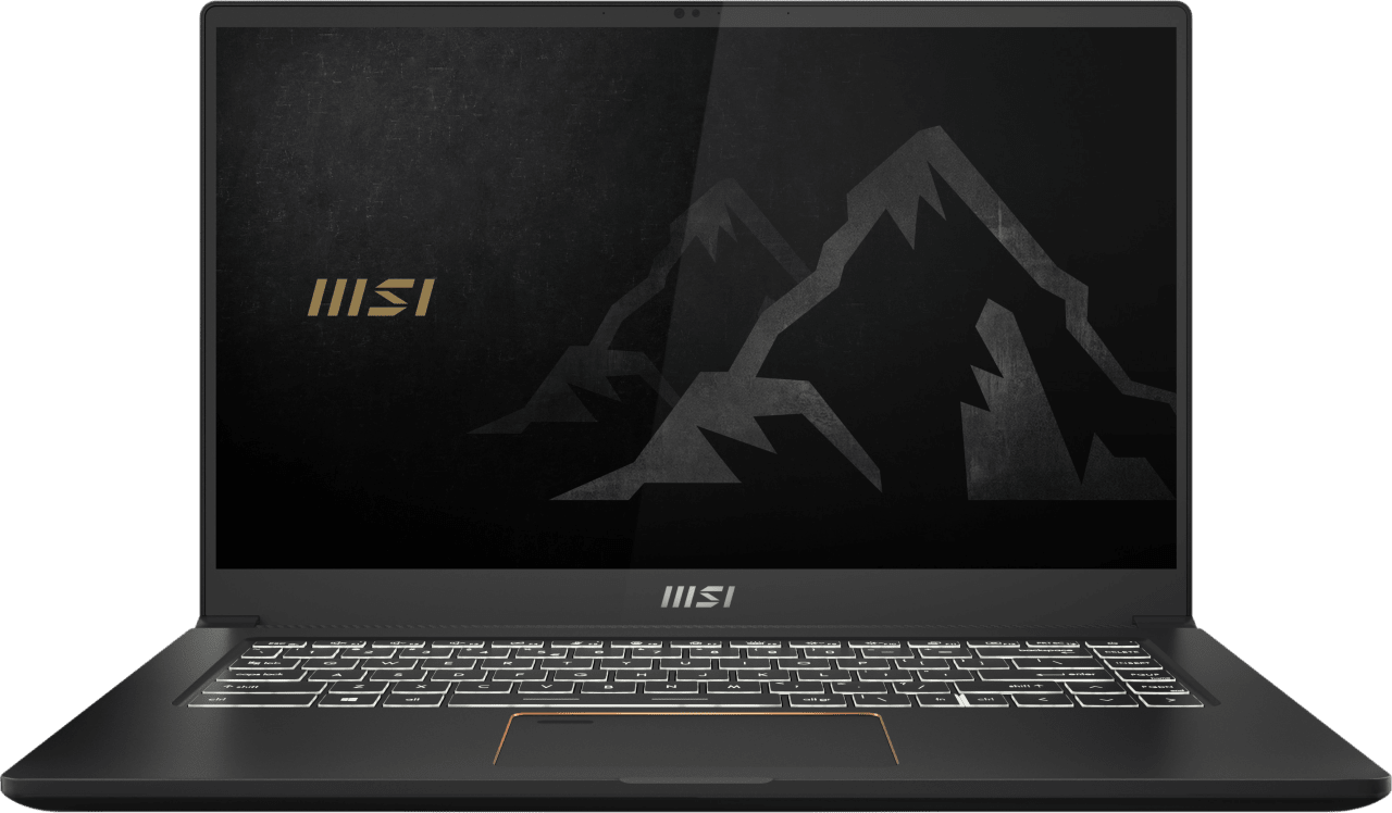 Black MSI Summit E15 A11SCST-044NL - English (QWERTY) Laptop - Intel® Core™ i7-1185G7 - 16GB - 1TB SSD - NVIDIA® GeForce® GTX 1650 Ti (4GB).1