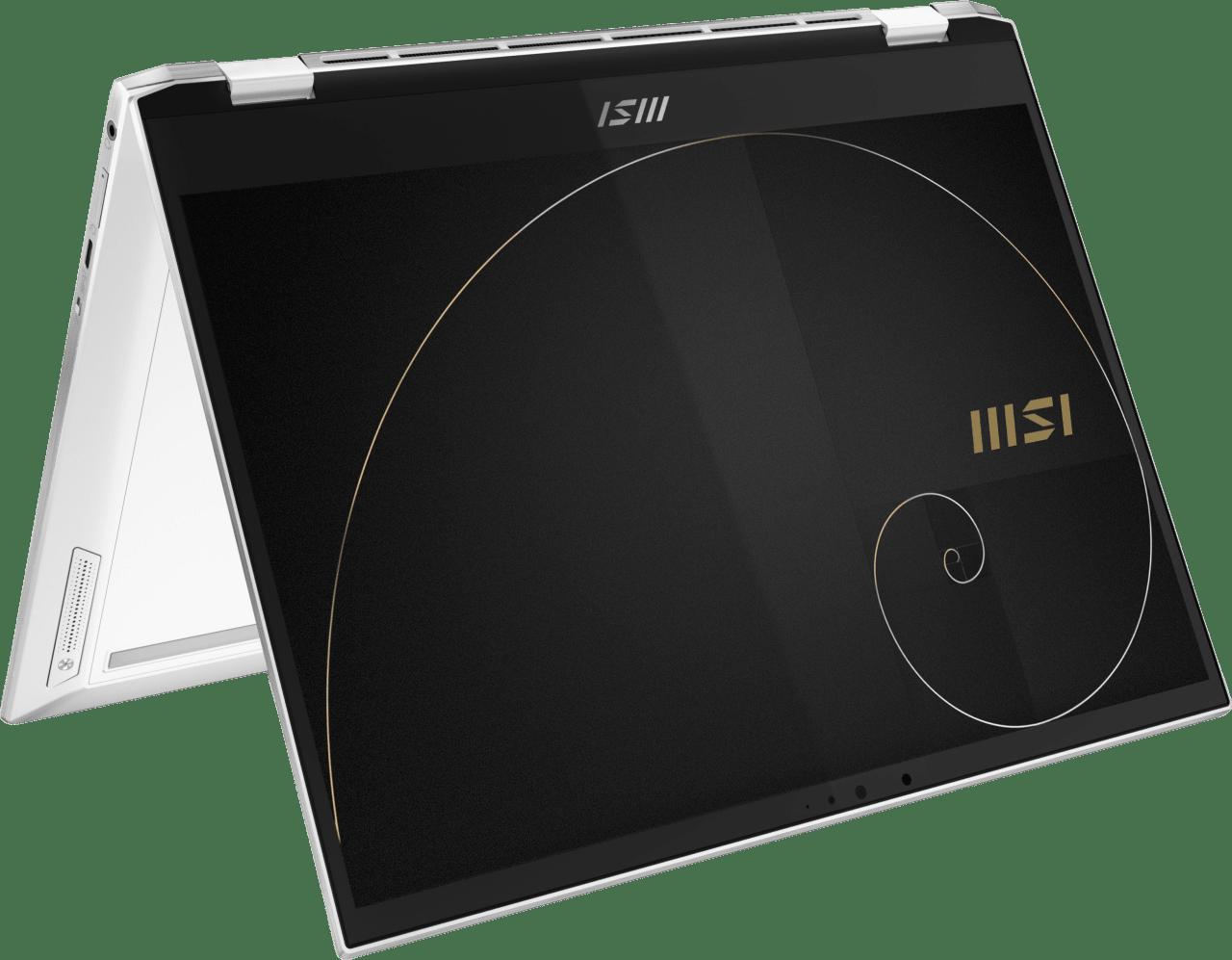 White MSI Summit E13 Flip A11MT-029NL - English (QWERTY) Convertible - Intel® Core™ i7-1185G7 - 32GB - 1TB SSD - Intel® Iris® Xe Graphics.1