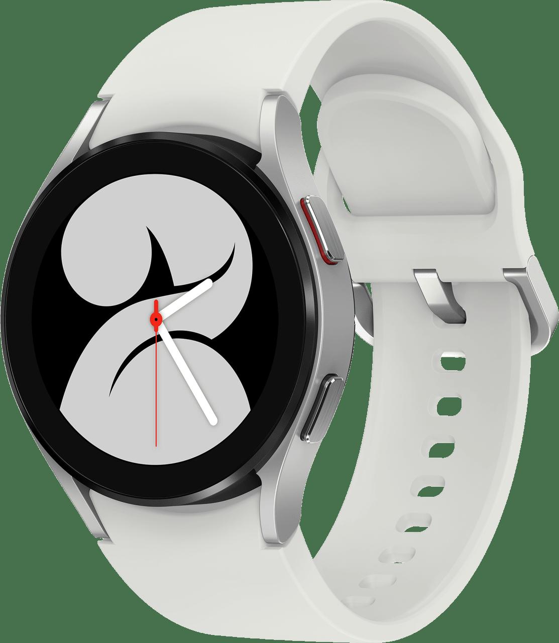 Silver Samsung Galaxy Watch4, 40mm.1
