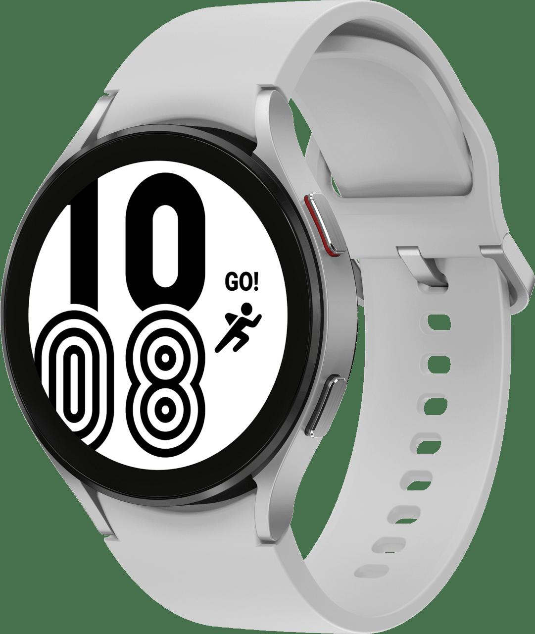 Silber Samsung Galaxy Watch4, 44mm.1