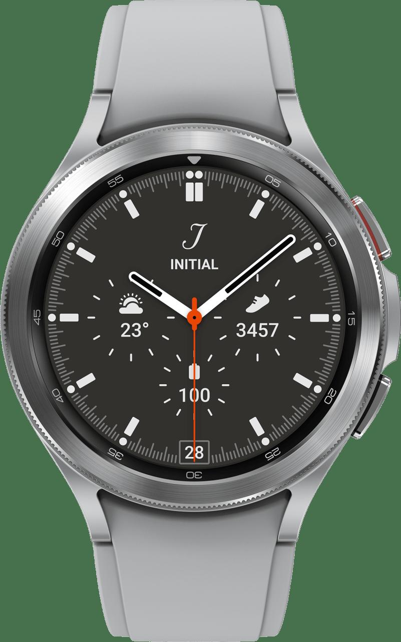 Zilver Samsung Galaxy Watch4 Classic, 46mm.2
