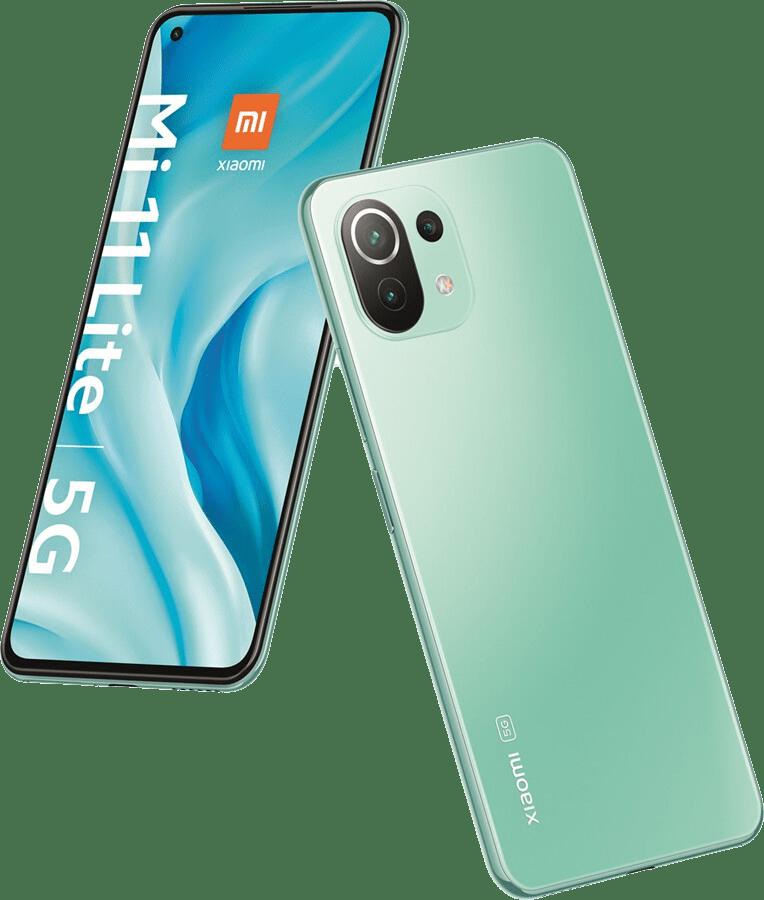 Mint Green Xiaomi Smartphone Mi 11 Lite 5G - 128GB - Dual SIM.4