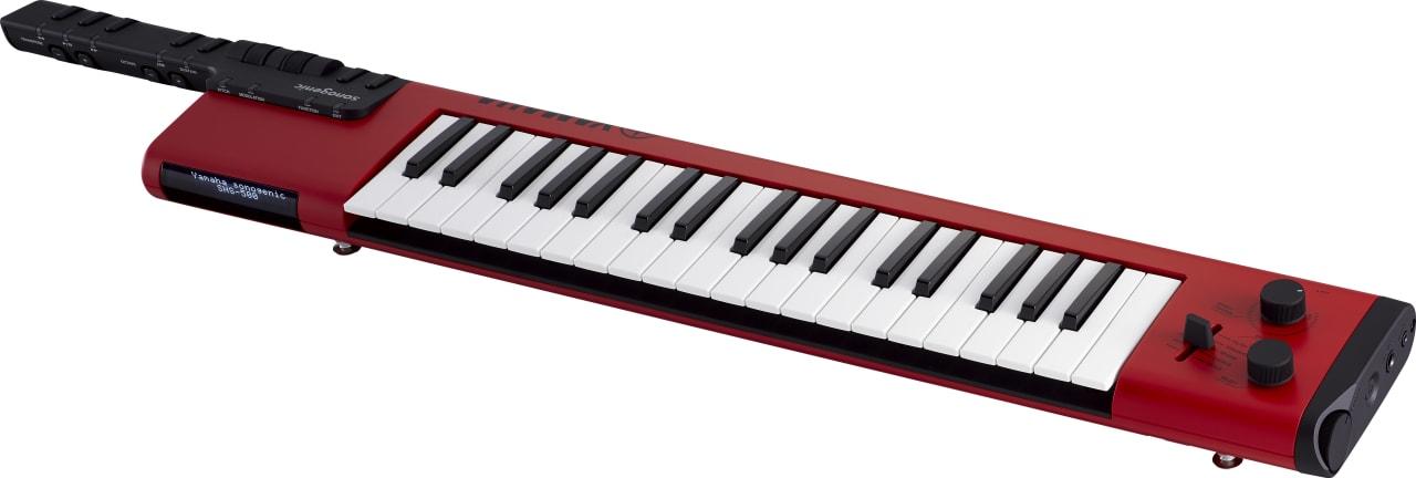 Rood Yamaha SHS-500 37-sleutel Keytar.1