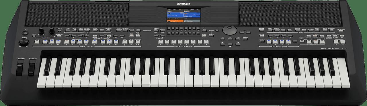 Black Yamaha PSR-SX600 61-Key Digital Workstation Piano.4