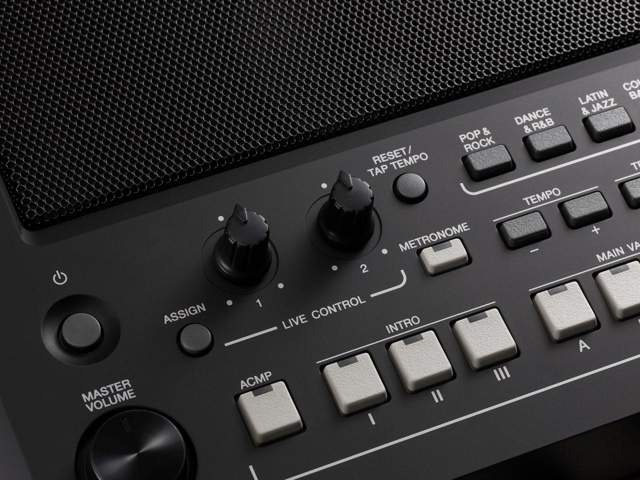 Black Yamaha PSR-SX600 61-Key Digital Workstation Piano.5