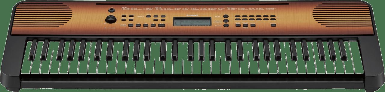 Esdoorn Yamaha PSR-E360 61-sleutel draagbare digitale piano.3
