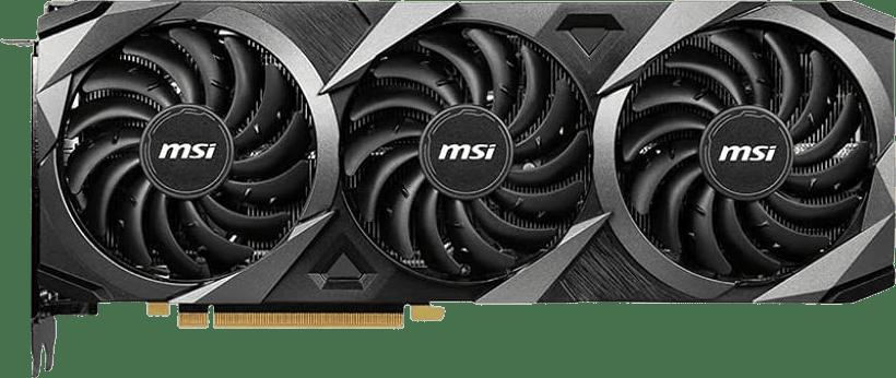 Black MSI RTX3080Ti Ventus 3X OC Graphics Card.1