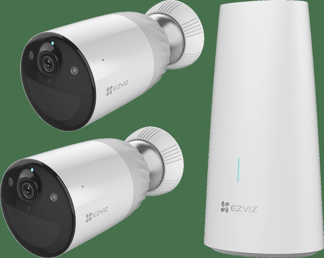 White EZVIZ BC1-B2 Security Camera Duo-Pack.1