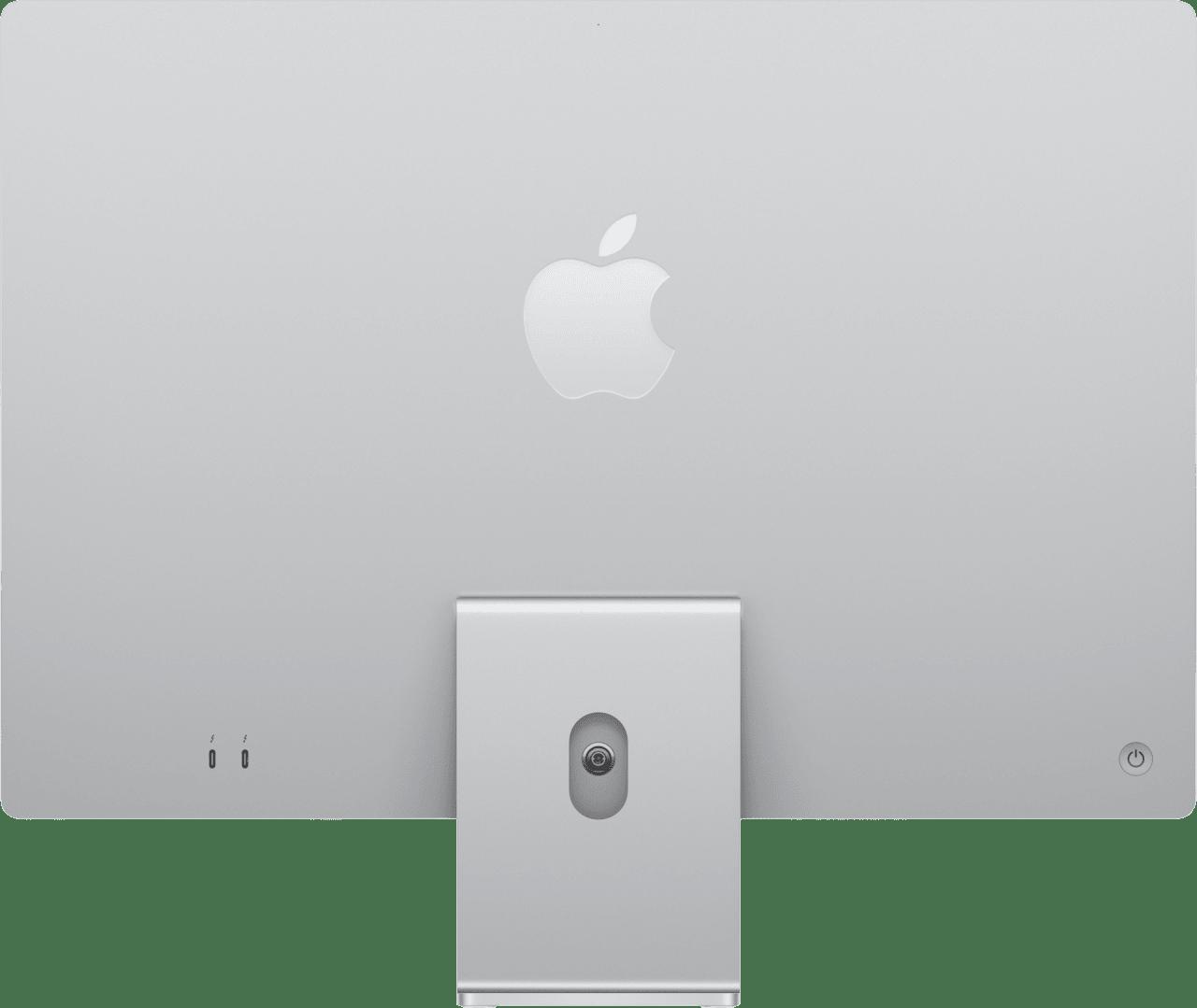"Plata Apple 24"" iMac (mediados de 2021) - Inglés (QWERTY) All-in-One - Apple M1 - 8GB - 512GB SSD - Apple integrado GPU de 8 núcleos.3"