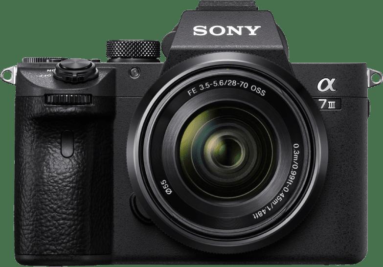 Black Sony Alpha 7 II kit + 28-70mm lens.5