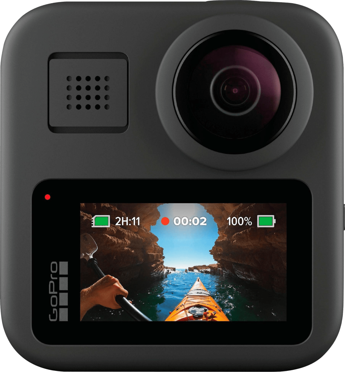 Black GoPro MAX Action Camera.2