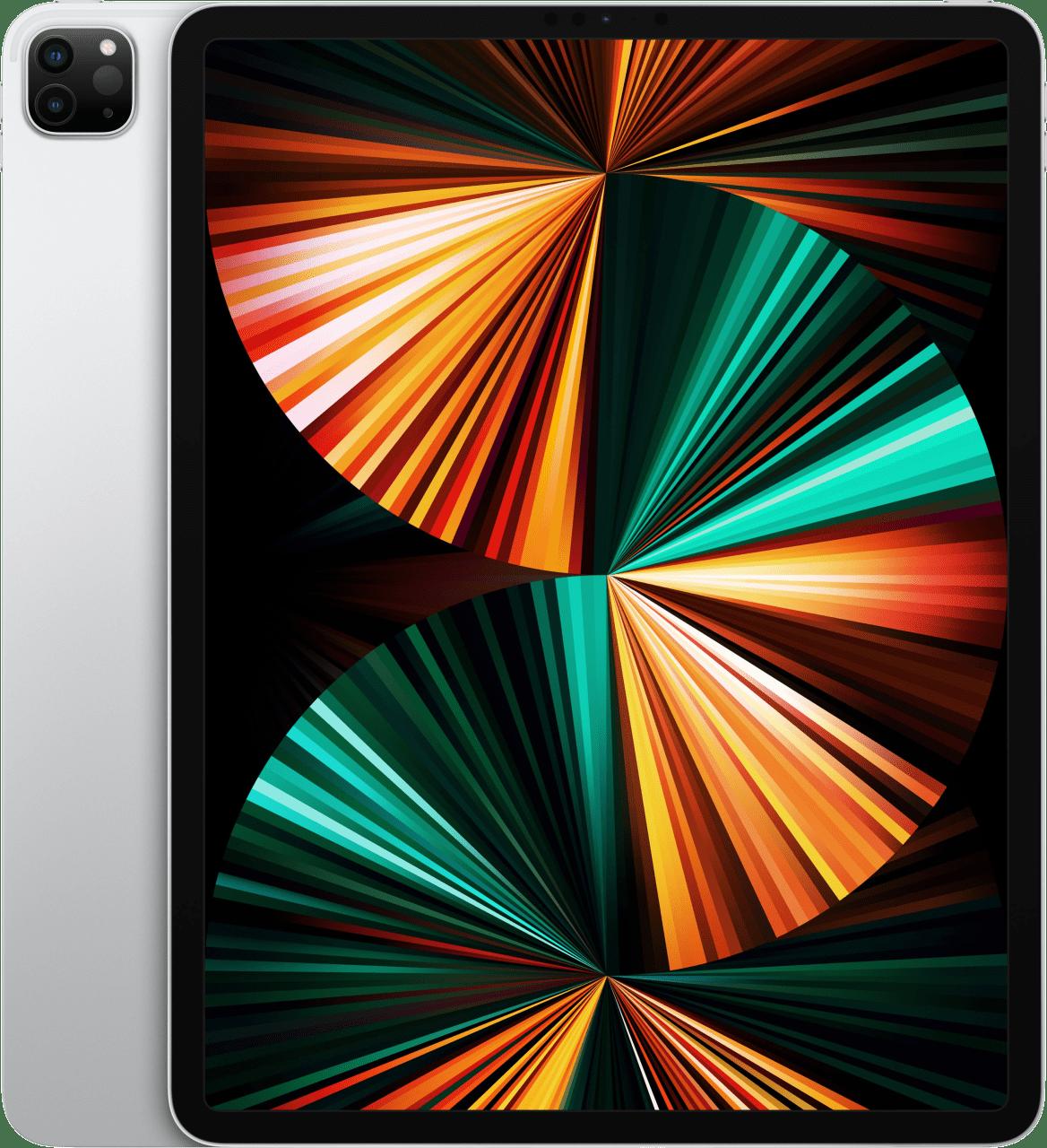 "Silver Apple 12.9"" iPad Pro (2021) - Wi-Fi + Cellular - iOS 14 - 128GB.1"