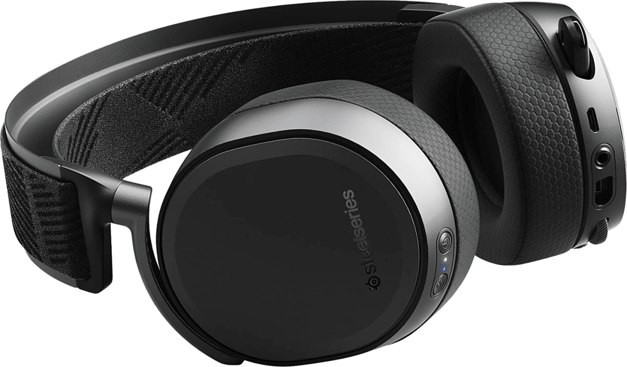 Black SteelSeries Arctis Pro Wireless.4