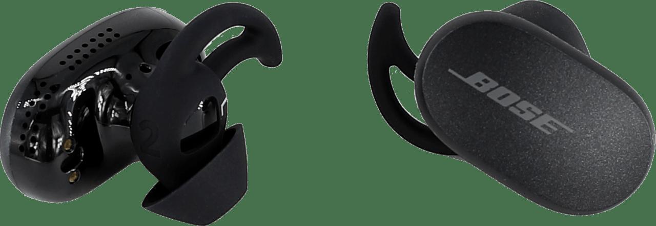 Black Bose QuietComfort Noise-cancelling In-ear Bluetooth Headphones.4