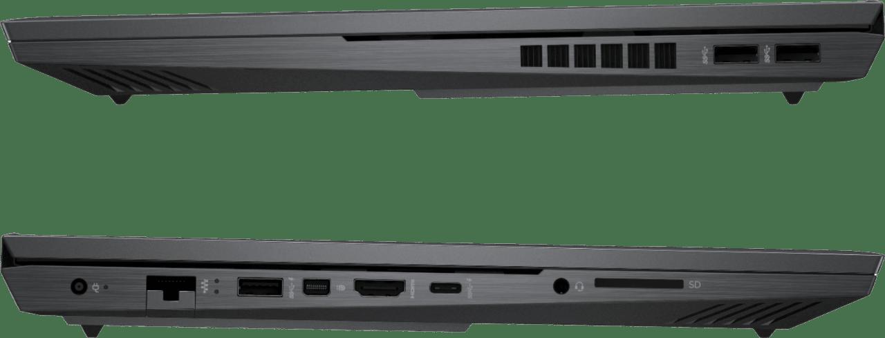 Black HP OMEN - Advantage Edition Laptop - AMD Ryzen 7 - 16GB - AMD Radeon™ RX 6600M - 1TB SSD.3
