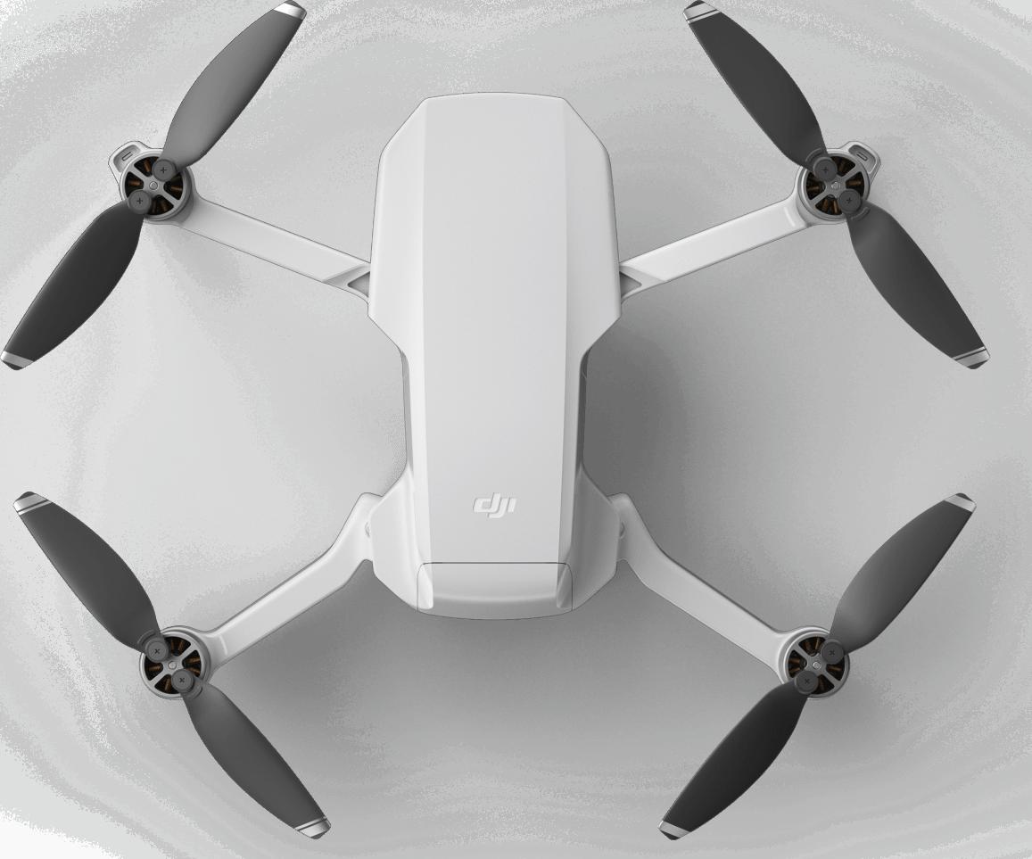 White DJI Mavic Mini Fly More Combo Drone.2
