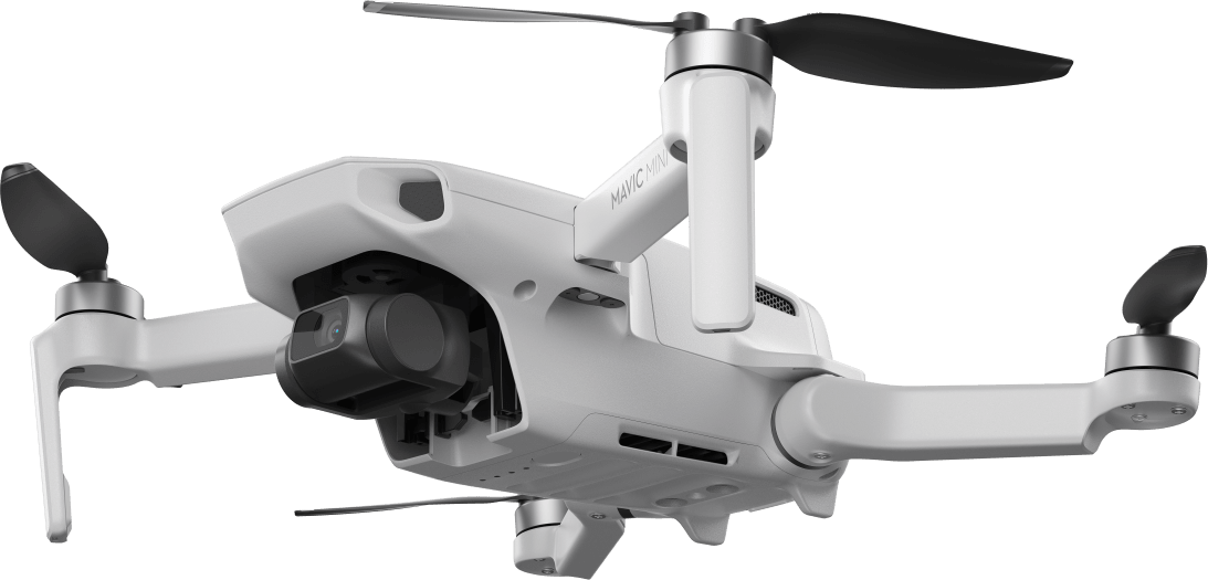 White DJI Mavic Mini Fly More Combo Drone.3
