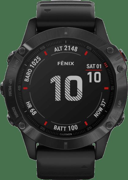Black Garmin Fenix 6 Pro GPS Sports watch, 47mm.1