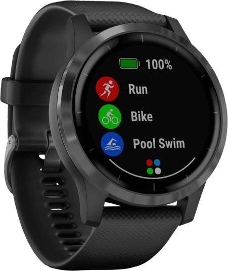 Black Garmin Vivoactive 4 GPS Sports watch.2